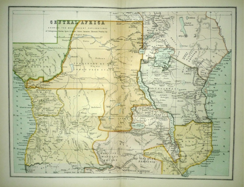 CENTRAL AFRICA by the Rev. Thomas Milner c.1897