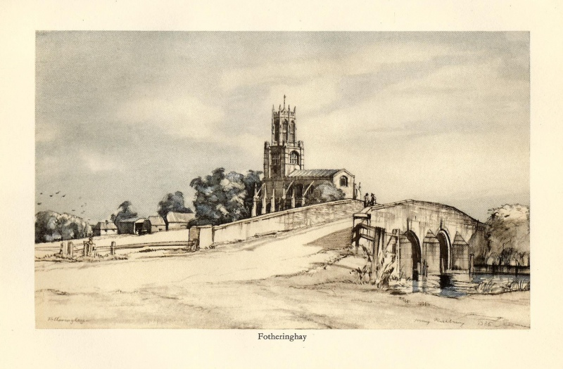 'Fotheringhay' by Henry Rushbury R. A. c.1936