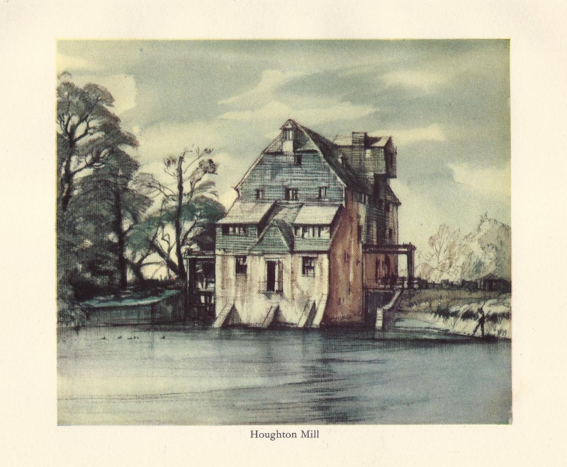 'Houghton Mill' by Henry Rushbury c.1936